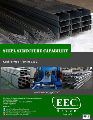 EEC Cold Formed – Purlins C & Z